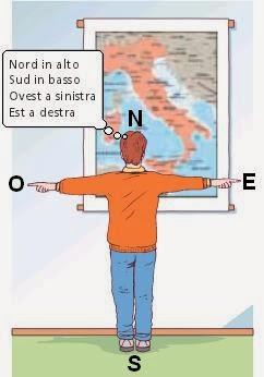 Cartina Italia Nord Sud Est Ovest.Nord Sud Est Ovest