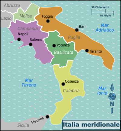 Basilicata Cartina Confini.Confini Basilicata