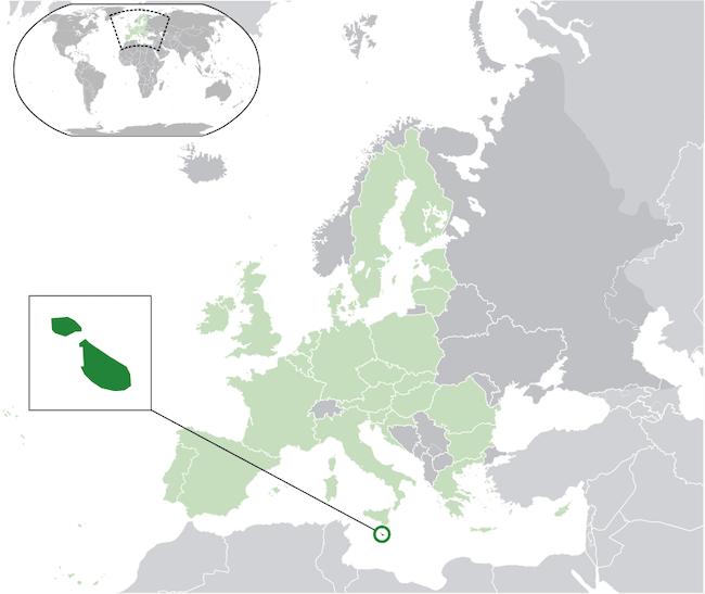 Malta Cartina Stradale.Dove Si Trova Malta