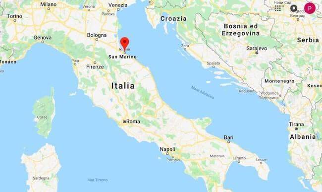 Dove Si Trova Malta Cartina Geografica.Dove Si Trova Rimini