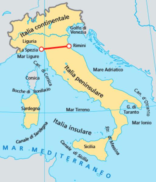 Cartina Italia Centrale E Meridionale.Italia Insulare