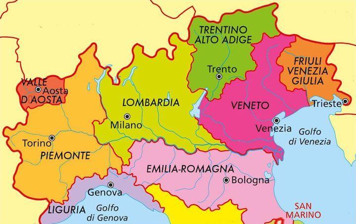 Cartina Fisica Lago Di Garda.Dove Si Trova Il Lago Di Garda