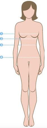 misure taglie donna