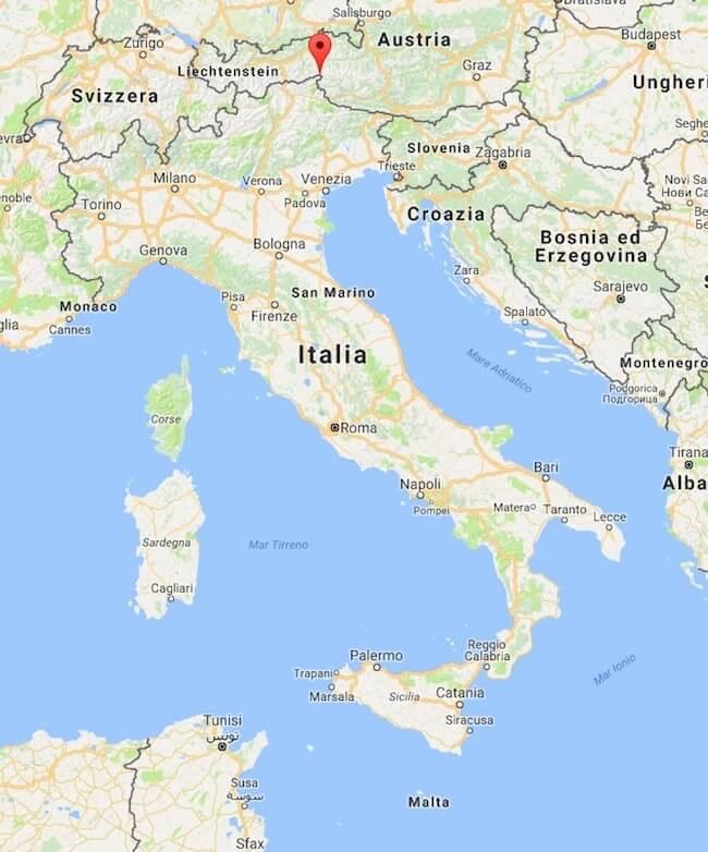 Cartina Italia Con Distanze Km.Quanto E Lunga L Italia