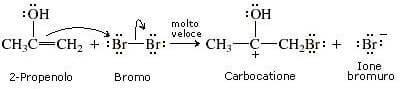 attacco nucleofilo dell'alchene